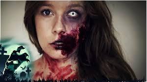 halloween zombie bride makeup zombie make up i maikekrombach youtube