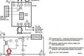 honeywell aquastat relay wiring diagram l8124l boiler honeywell