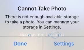 iphone cannot take photo fix cannot take photo iphone ipad