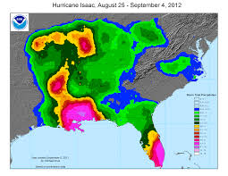 Rainfall Totals Map Drought August 2012 State Of The Climate National Centers
