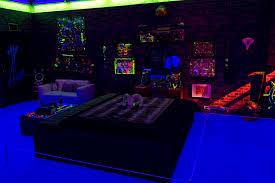 Black Lights In Bedroom Geffen Moca Black Light Bedroom Flickr