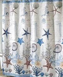 Nautical Curtain Fabric Antigua Nautical Shower Curtain Sailboat Coastal Decor Fabric