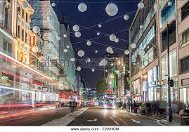 Christmas Decorations Oxford Street - oxford street christmas decorations stock photos u0026 oxford street