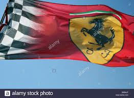 Flag Im Ferrari Flag Stockfotos U0026 Ferrari Flag Bilder Alamy