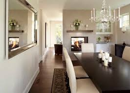 Rustic Room Dividers Dining Room Traditional With Banquet Table - Floating shelves in dining room