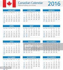 calendar 2016 with holidays canada