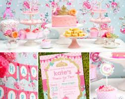 High Tea Party Decorating Ideas Tea Decor Etsy