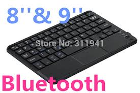 bluetooth keyboard android android windows bluetooth keyboard with touchpad for 8 or 9