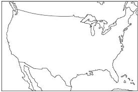 america map no borders blank us map no borders state name capital for kid usa map with