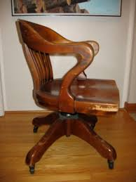 krug furniture kitchener h krug wood office chair antique appraisal instappraisal