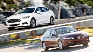 Ford Fusion Vs Honda Accord Reliability 2015 Honda Accord Vs 2015 Ford Fusion Comparison Test Video Edmunds