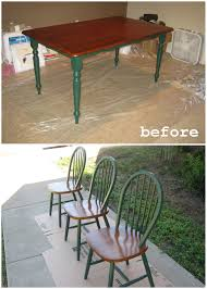 Painted Dining Table by Hand Painted Dining Room Tables Large And Beautiful Photos