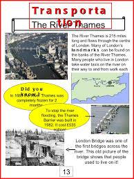 thames barrier ks2 london landmark fact sheets 1