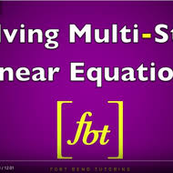 fort bend tutoring solving linear equations tutorial