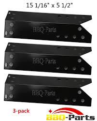 Sunbeam Patio Furniture Parts by Amazon Com Bbq Parts Ppf781 3 Pack Porcelain Steel Heat Plate
