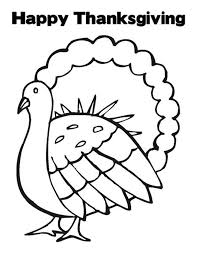 turkey template printable kids coloring