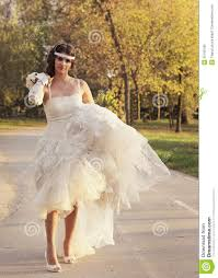marriage dress for girl in a wedding dress stock photo image of happily 35199740
