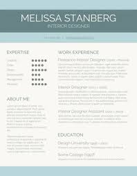 Interior Design Resume Templates Modern Resume Template Word Gfyork Com