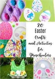 easter crafts and activities for preschoolers the unprepared