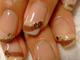nail designs with gold u0026 for beautiful ladies picsrelevant