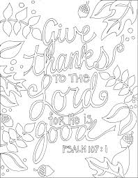 thanksgiving scripture kjv bible verse coloring pages 10586