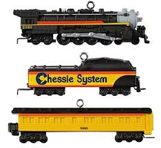 lionel chessie steam special keepsake ornaments