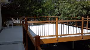 Decking Kits With Handrails Free Samples Railsimple Wood Railing Kits Traditional Series