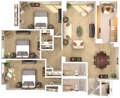 three bedroom apartments floor plans three bedroom two bathroom apartments chevy chase md