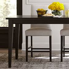 Dining Room Tables With Leaf by Custom Rectangular Table Dining Room Bassett Furniture