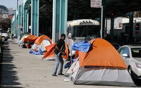 San Francisco Street Cleaning Map by Sf Declares Tent City Of Homeless Is Health Hazard Al Jazeera
