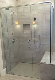 Shower With Door Frameless Showers With Header Frameless Shower Doors