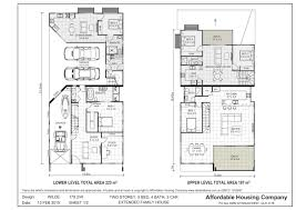dual living floor plans extraordinary dual living house plans ideas best inspiration home