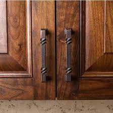 rustic cabinet hardware cheap vintage 1950s black hammered cabinet door drawer pulls handles