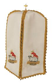 chalice veil ciboria chalice veil agnus dei seals ecclesia supplies