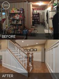 before u0026 after family friendly basement finishing in naperville