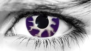 halloween conctact lens purple tempest scary halloween lenses