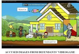 Keyboard Cat Meme - keyboard cat and nyan cat s attorneys sue scribblenauts videogame