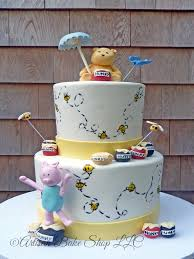 winnie the pooh baby shower cakes baby shower cakes specialty baby shower cakes custom baby shower