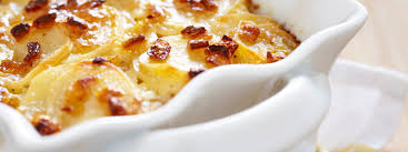 thanksgiving scalloped potatoes potatoes with bacon u0026 chipotle cream