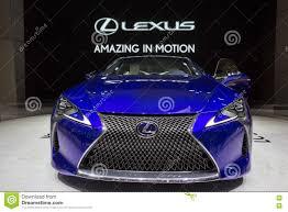 nuevo lexus lf lc nuevo lexus 2018 lc 500h fotografía editorial imagen 72940547