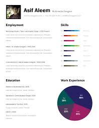 Visual Resume Templates Free One Page Resume Examples Cover Letter One Page Resume Examples