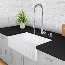 33 inch farmhouse kitchen sink 33 inch farmhouse apron single bowl matte stone kitchen sink white