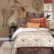 Twin Bedroom Set Boy Boy Children Kid Cowboy Horse Western Twin Full Queen Duvet Cover