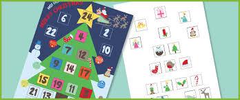 blank calendar template ks1 christmas advent calendar free early years primary teaching