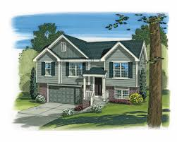 Small Split Level House Plans Country House Plan 3 Bedrms 2 Baths 1096 Sq Ft 100 1165
