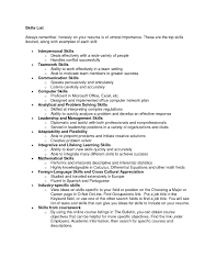 Resume Qualifications Examples Useful It Skills Resume Examples With Additional It Skills For