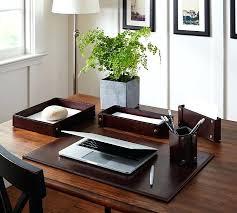 high end office accessories desk decoration idea 1 leather desk accessories high end office accessories