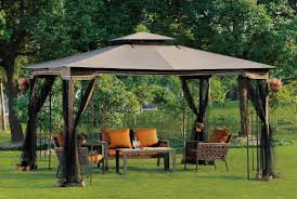 Mainstays Gazebo Replacement Parts by Pergola Awesome Gazebo Berkley Jensen 10 12 Hardtop Gazebo With