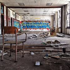 abandoned spring garden will be converted into housing for