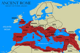 rome on a map ancient rome map by rsholtis on deviantart